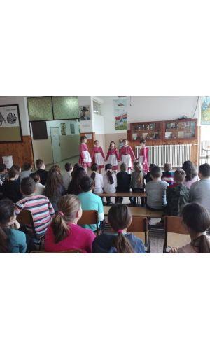 A muzslyai iskolában megemlékeztek a magyar kultúra napjáról