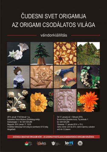 Szabadka: Az origami csodálatos világa