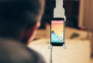 Okostelefon mozgássérülteknek