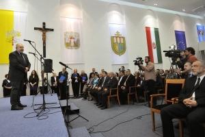 A délvidéki magyar népirtásra emlékeztek Szegeden