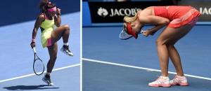 Serena és Maria öröme