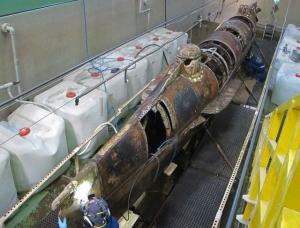 A rozsdás tengeralattjáró