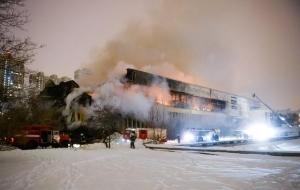 Tűz az OTA könyvtárában