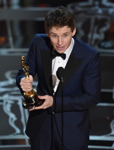 Oscar-díj — A legjobb színész: Eddie Redmayne