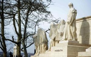 Elkészült a Kossuth-szoborcsoport