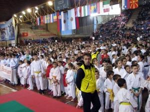 Karate kupa Szabadkán