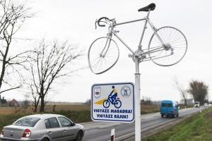 Figyelemfelkeltő kerékpárok Szabolcs-Szatmár-Bereg megyében