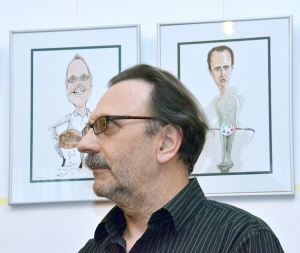 A karikaturista nem más, mint Homo Bascodikus?