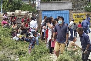 Újabb földrengés Nepálban