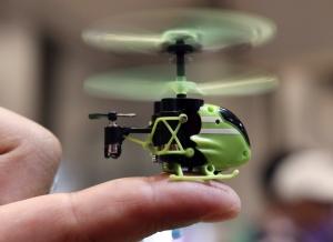 A világ legkisebb játékhelikoptere