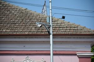Köztéri kamerák Zentán