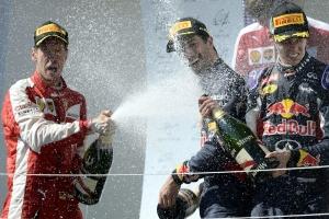 Sebastian Vettel győzött Mogyoródon!
