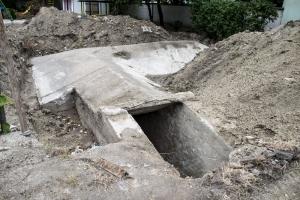 Világháborús bunkert találtak egy csepeli óvoda udvarán