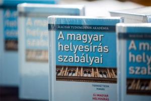 Bemutatták a Magyar Helyesírás Szabályainak új kiadását