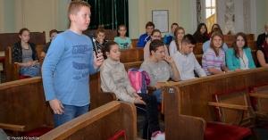 Diákok a Városházán