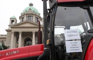 Traktoros tiltakozás