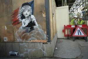 Banksy legújabb alkotása
