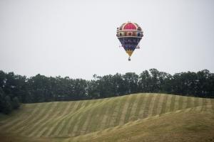 Szent Korona alakú hőlégballon