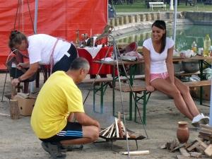 Marhapörköltfőző verseny Palicson