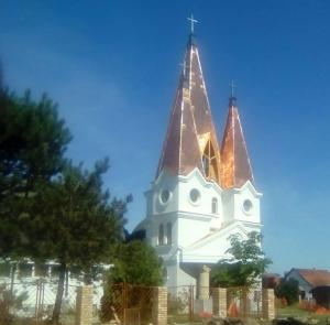Zenta — Templomszentelés