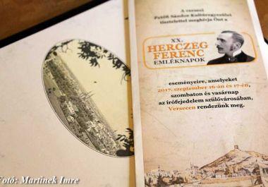 Helyszíni jegyzetek a XX. Herczeg Ferenc Emléknapokról