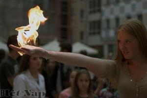 Lángoltak a kezek a szabadkai Galleria Hotelban