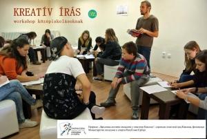 Magyarkanizsa — Kreatív írás Tékiss Tamással
