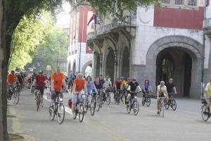 Kerékpártúra a testvériség jegyében
