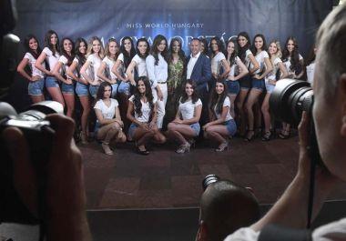 Bemutatták az idei Magyarország Szépe verseny jelöltjeit