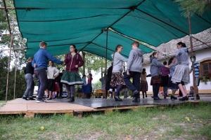 Talentum gyermek- és ifjúsági néptánctábor a horgosi Túrú-tanyán