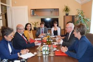 Lamberto Zannier, az EBESZ kisebbségügyi főbiztosa látogatott az MNT-be