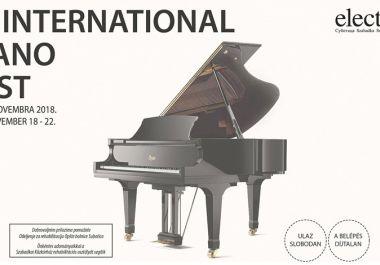 Ötödször is Nemzetközi Zongorafesztivál