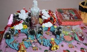 Hagyományos karácsonyi vásár a Gion-házban