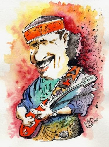 Carlos Santana megmutatja a világnak