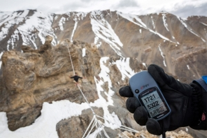 A rossz időjárás ellenére született meg a magyar highline magassági világrekord Indiában