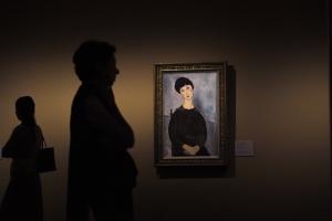 Megnyílt Modigliani első nagyszabású magyarországi kiállítása