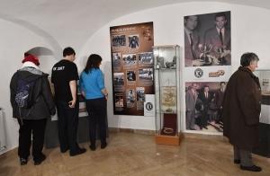 Megnyílt a Puskás Ferenc 10 című vándorkiállítás Székesfehérváron