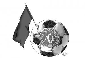 Repülőgép-balesetet szenvedett egy brazil futballcsapat