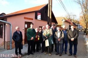 Az Arena Zabatkiensis Borlovagrend küldöttsége Csongrádon