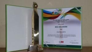 Ada község BEES 2016 Award díjban részesült