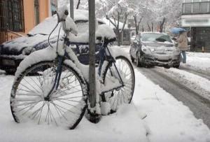 A hó és a fagy fogságában