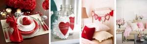 Lakberendezés a szerelem jegyében — avagy Bálint-napi dekoráció