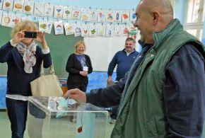 Pásztor István szavazott
