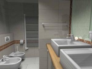 A lakás origója, a fürdőszoba