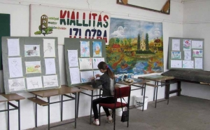 Fiatal MAKK-osok képkiállítása Muzslyán