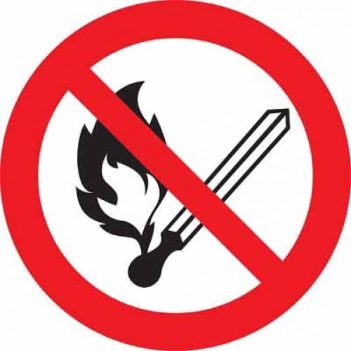 Tilos a szabadtéri tűzgyújtás