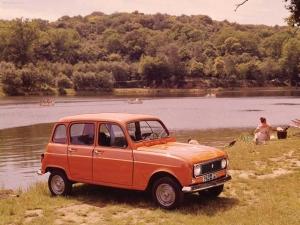Egy korszak autói — Renault 4