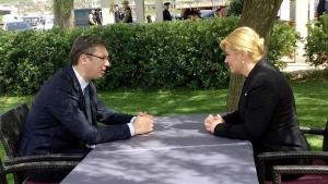 A szerb—horvát csúcstalálkozóra várva