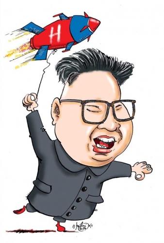 A zsaroló pókerkirály: Kim Dzsongun