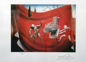 Utolsó napon ingyenes a Dalí-kiállítás
